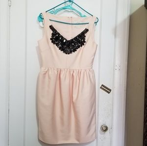 Kate Spade peach color with sequins neckline